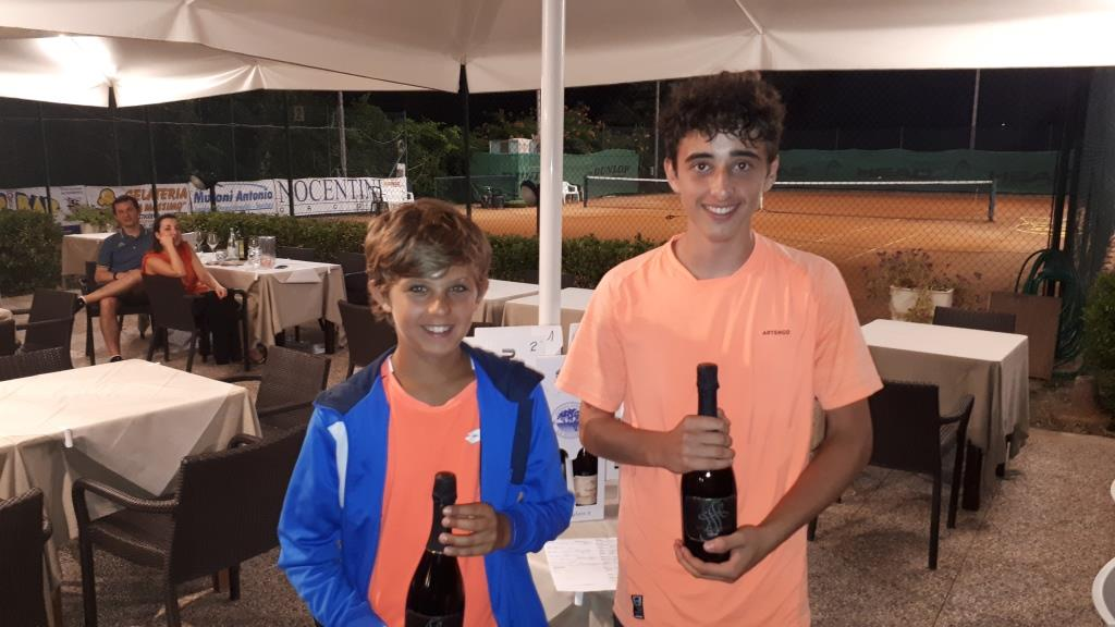 Premi ai giovani atleti: Davide Covi e Filippo Corsi