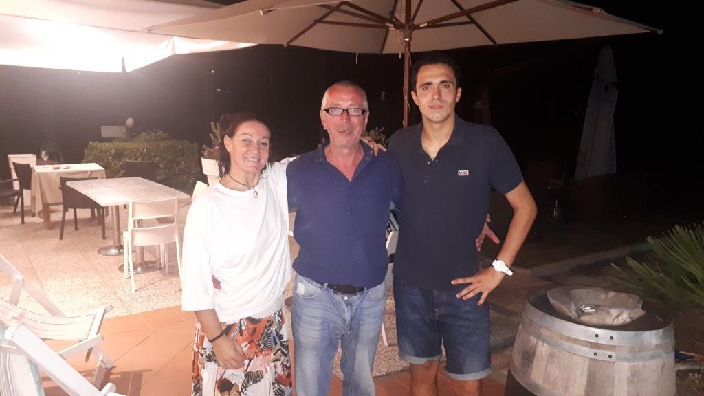 Secondi classificati: Rosy Di Brizzi e Alessio Serra