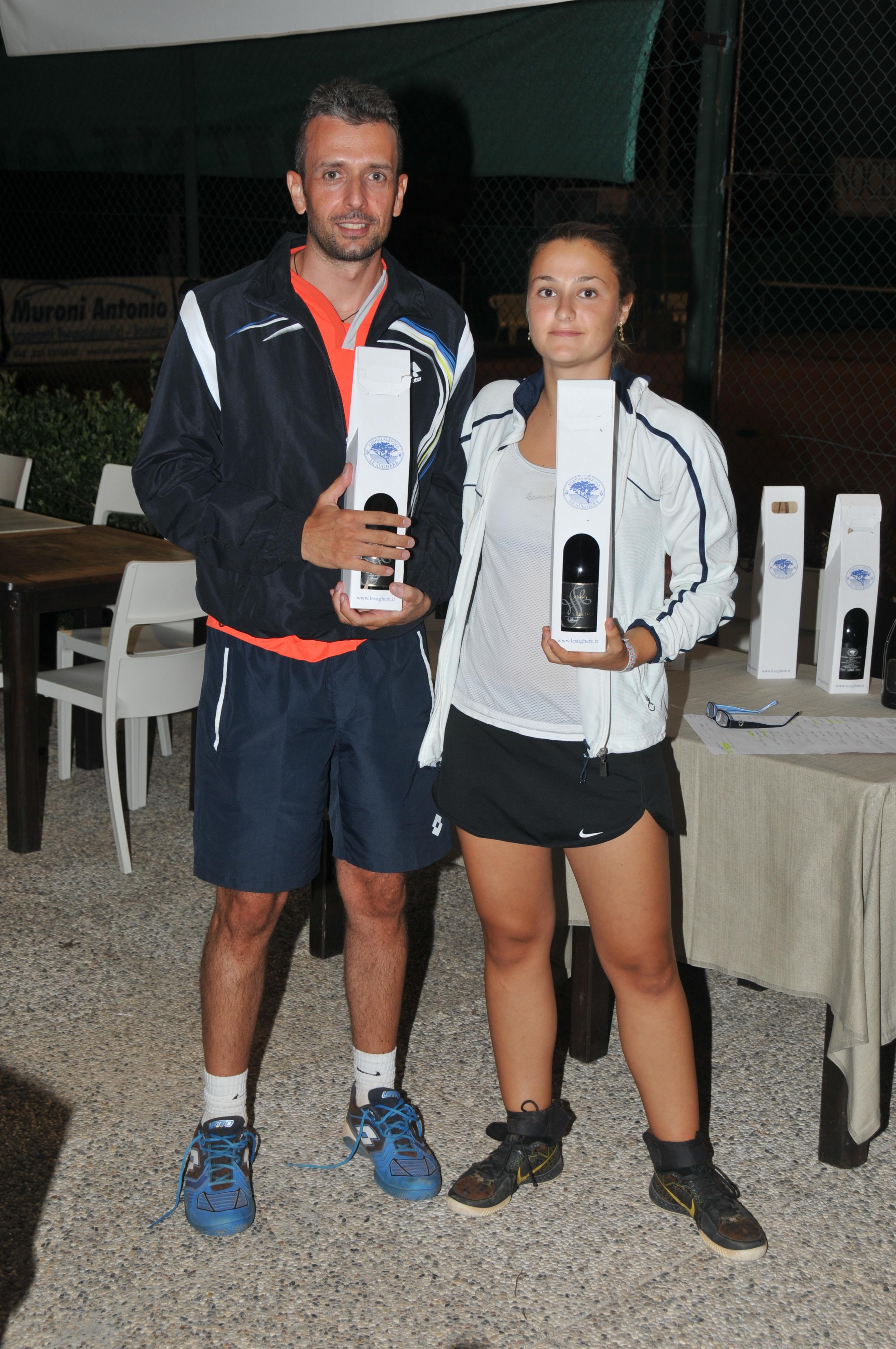 Terzi Classificati: Andrea Cecconi e Valeria Miliani